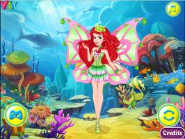 Ariel se Veste de Fada Winx - screenshot 3