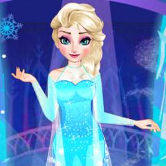 Jogo Arrume Elsa para Sair