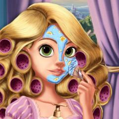 Jogo Arrume Princesa Rapunzel
