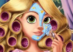 Arrume Princesa Rapunzel