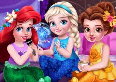 As Princesas e a Festa do Pijama