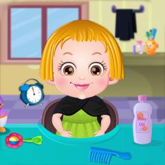 Jogo Baby Hazel Corta Cabelo