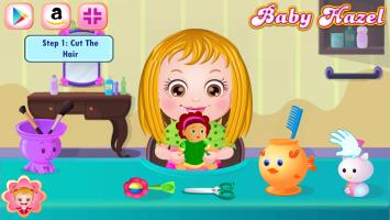 Baby Hazel Corta Cabelo - screenshot 1