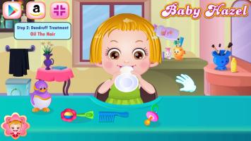 Baby Hazel Corta Cabelo - screenshot 3