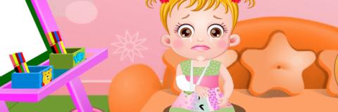 Baby Hazel Machuca o Braço