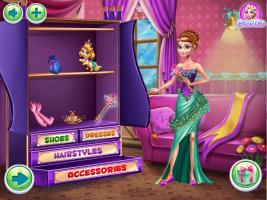 Baile de Gala de Inverno com Três Princesas - screenshot 2