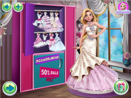Baile de Gala de Inverno com Três Princesas - screenshot 3