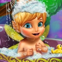 Jogo Banho da Sininho Bebê