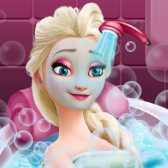 Jogo Banho de Beleza da Elsa