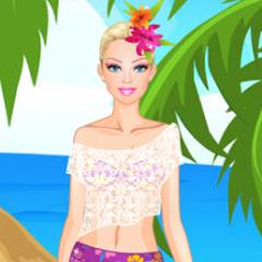 Jogo Vista Barbie no Havaí