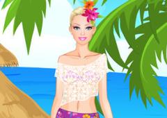 Vista Barbie no Havaí