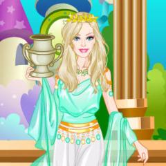 Jogo Barbie Princesa Grega