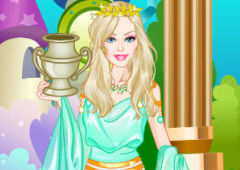 Barbie Princesa Grega
