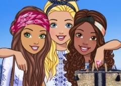 Barbie tira Férias na Grécia