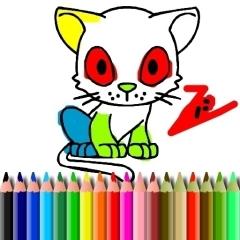 Jogo BTS Cat Coloring