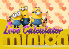 Calculadora do Amor dos Minions
