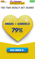 Calculadora do Amor dos Minions - screenshot 2
