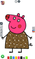 Colorir a Peppa - screenshot 2