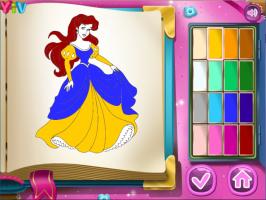 Jogos De Colorir As Princesas Disney No Meninas Jogos