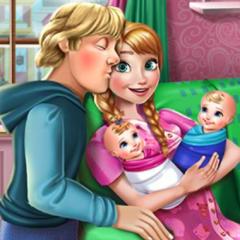 Jogo Cuide dos Gêmeos de Anna