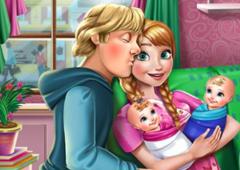 Cuide dos Gêmeos de Anna