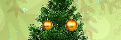Decore a Árvore de Natal