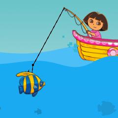 Jogo Dora Está Pescando
