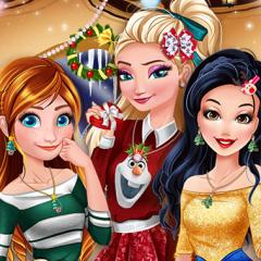 Jogo Elsa, Anna e Branca de Neve no Polo Norte