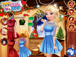 Elsa, Anna e Branca de Neve no Polo Norte - screenshot 2