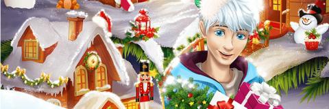 Elsa, Anna e Branca de Neve no Polo Norte