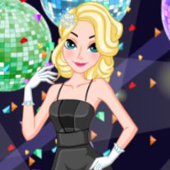 Jogo Elsa, Anna e Rapunzel no Baile da Escola