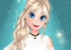 Elsa e o Desafio de Moda da Primavera