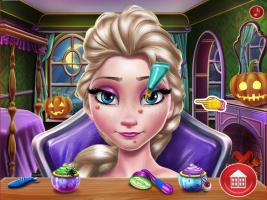Elsa: Maquiagem Assustadora de Halloween - screenshot 2