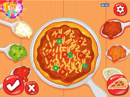 Elsa, Rapunzel, Bela e a Festa da Pizza - screenshot 2