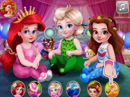 As Princesas e a Festa do Pijama - screenshot 1