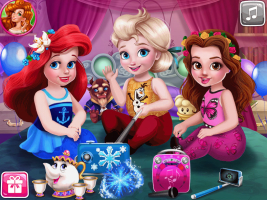 As Princesas e a Festa do Pijama - screenshot 4