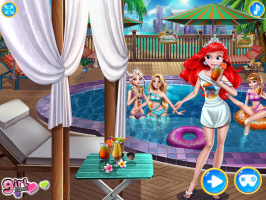 Festa de Piscina de Princesas - screenshot 1