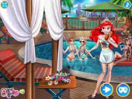 Festa de Piscina de Princesas - screenshot 2