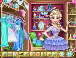 Guarda Roupa da Elsa - screenshot 2