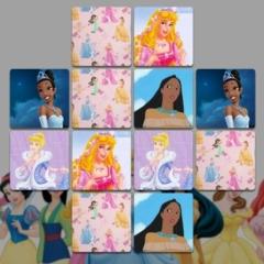 Jogo Jogo da Memória das Princesas