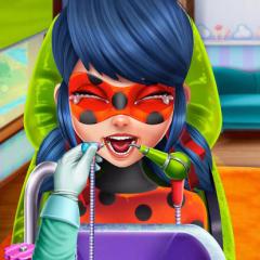 Jogo Ladybug Miraculous no Dentista