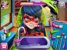 Jogos De Ladybug Miraculous No Dentista No Meninas Jogos