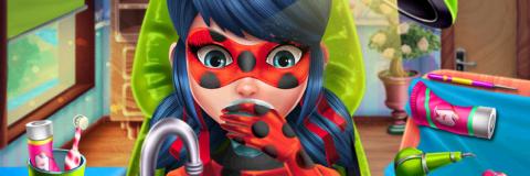 Ladybug Miraculous no Dentista