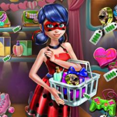 Jogo Ladybug Vai às Compras