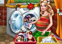 Lave os Brinquedos de Natal