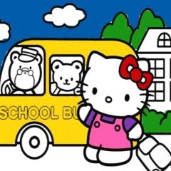 Jogo Livro de Colorir Hello Kitty