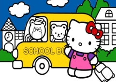 Livro de Colorir Hello Kitty