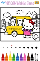 Livro de Colorir Hello Kitty - screenshot 1