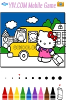 Livro de Colorir Hello Kitty - screenshot 2