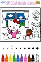 Livro de Colorir Hello Kitty - screenshot 3